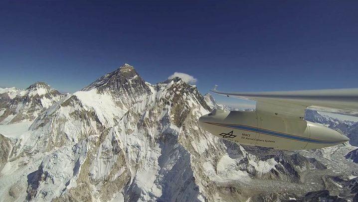 DLR-Motorsegler: Flug über den Himalaja