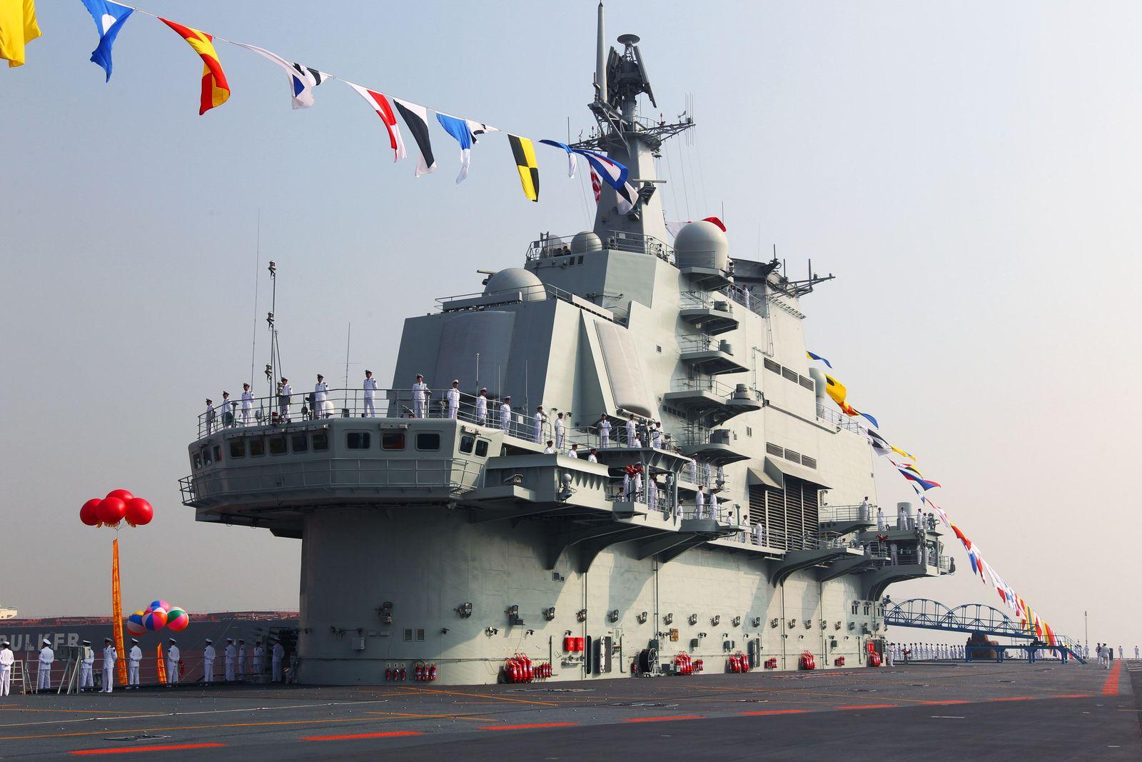 China / Flugzeugträger / Liaoning