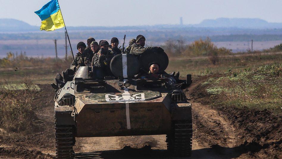 Ukrainische Einheit im Osten des Landes: Anklage aus Moskau