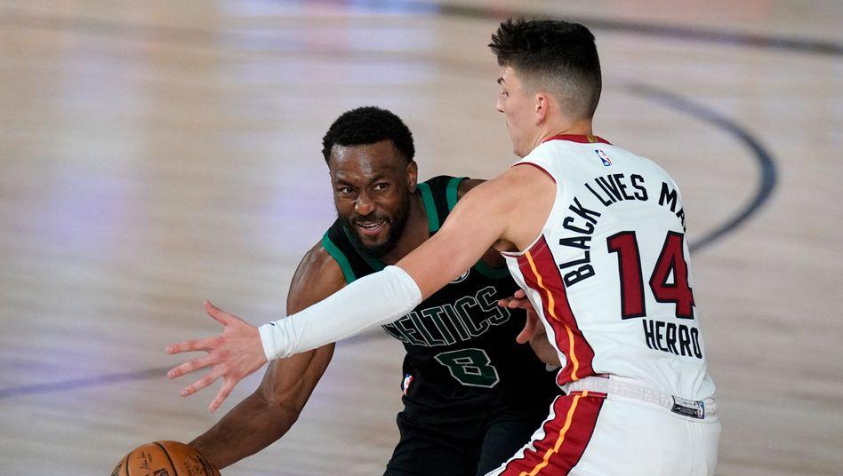 Kein Durchkommen für die Boston Celtics