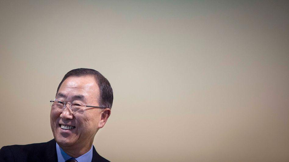Uno-Generalsekretär Ban Ki Moon (Archivbild): Hat das Assad-Regime Chemiewaffen eingesetzt?