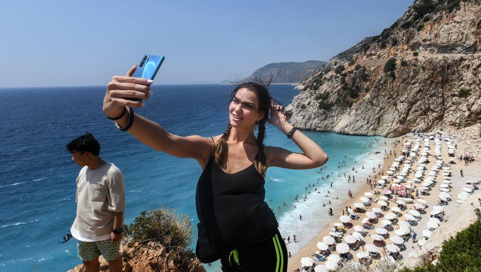 Auf Android-Geräten werden mehr als 70 Prozent der Bilder mit der Frontkamera gemacht