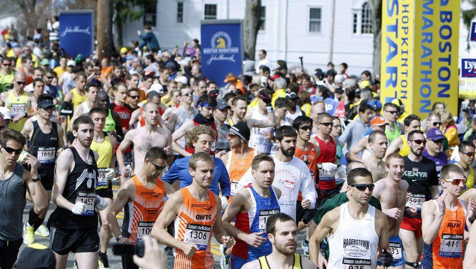 """Die Läufer in Boston vor dem Bombenanschlag: """"Laufen ist ein Symbol der Freiheit"""""""