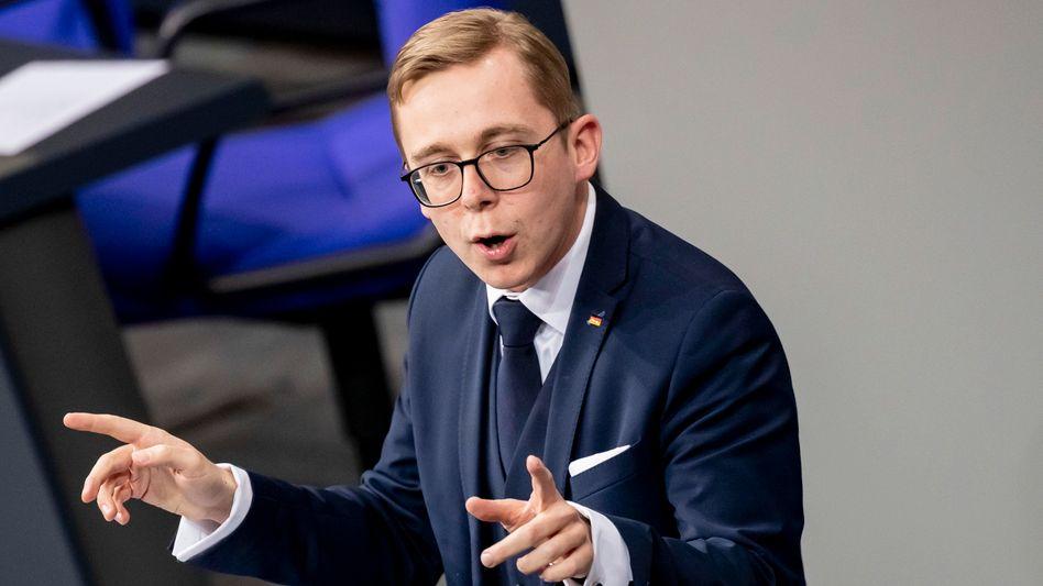 Philipp Amthor: Einen Fragenkatalog des SPIEGEL ließ er unbeantwortet