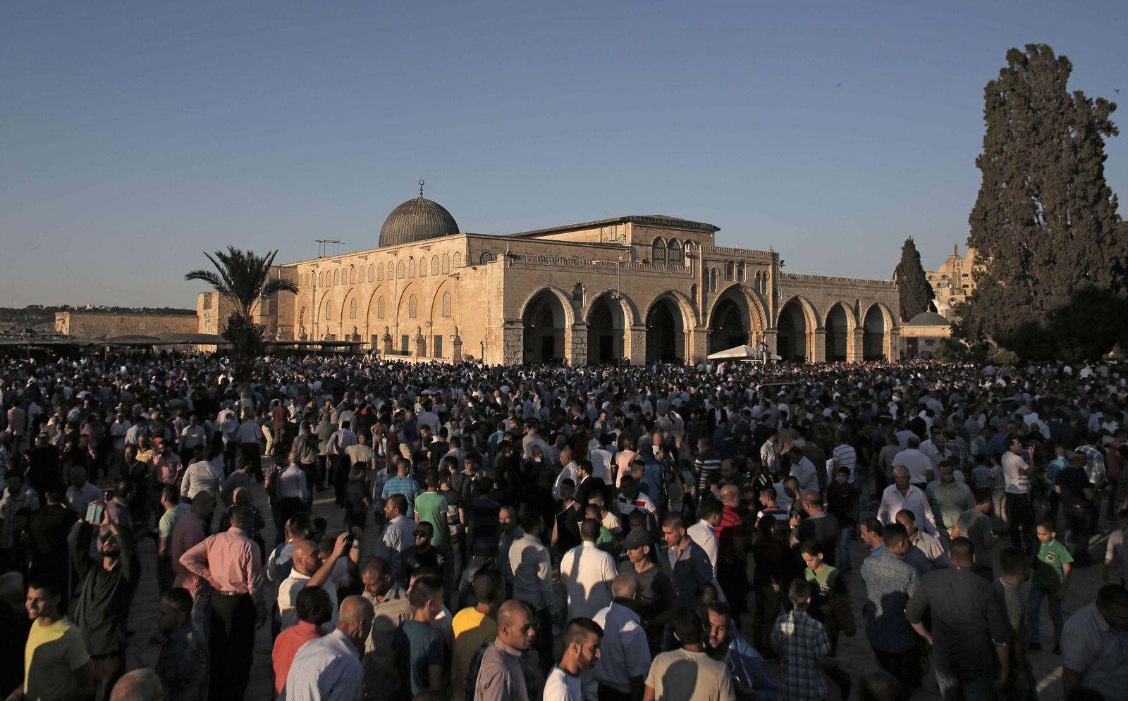 Jerusalem/ Al-Aqsa-Moschee