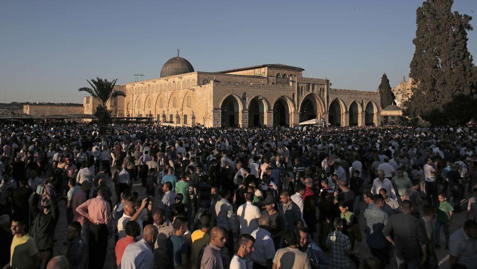 Al-Aksa-Moschee (Archiv): Auseinandersetzung auf dem Tempelberg