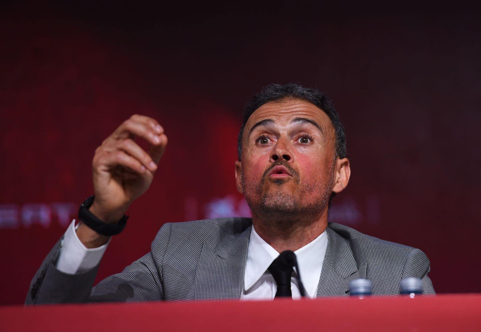 Spanien Nationaltrainer Luis Enrique