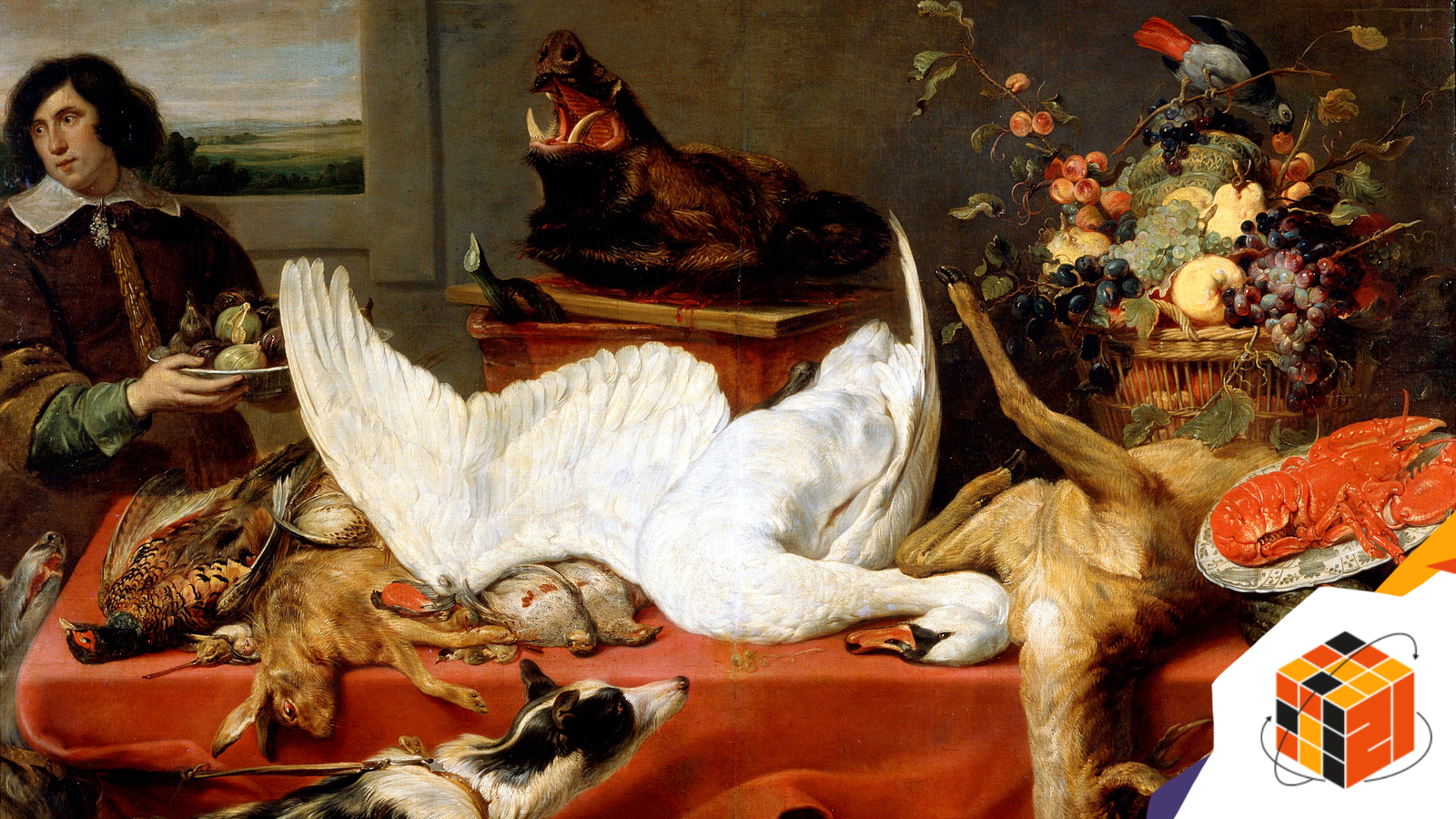 'Still life with a Swan', 1640s. Artist: Frans Snyders