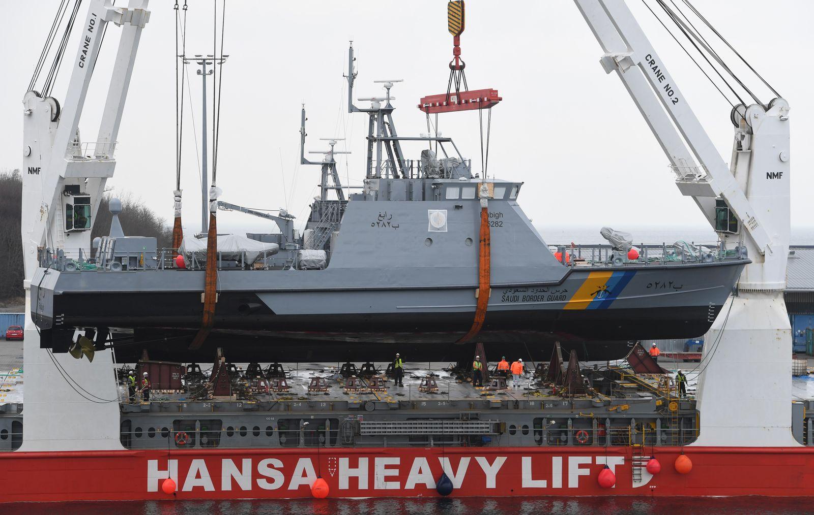 Küstenschutzboot / Patrouillenboot / Lürssen-Werft
