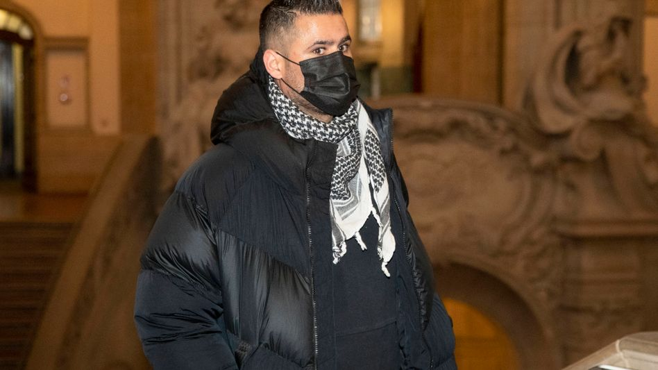 Yasser Abou-Chaker im Berliner Landgericht (im Januar)