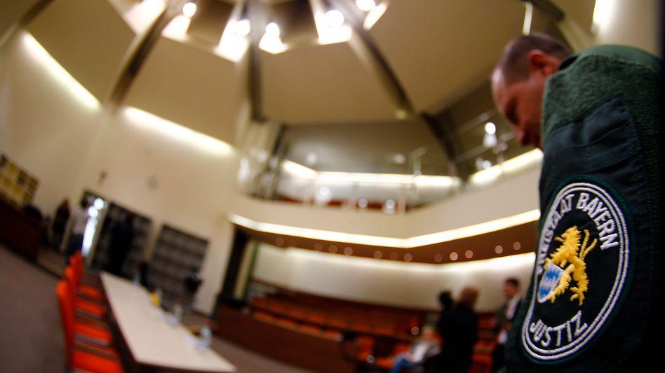 Saal für den Zschäpe-Prozess: Streit um die Vergabe der Presseplätze