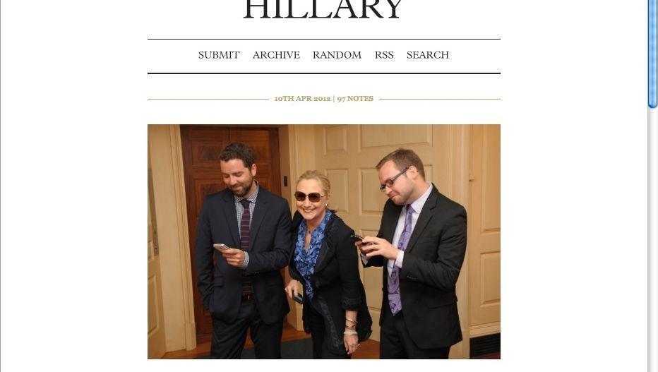 """Clinton mit Bloggern: """"Sie haben herumgealbert"""""""
