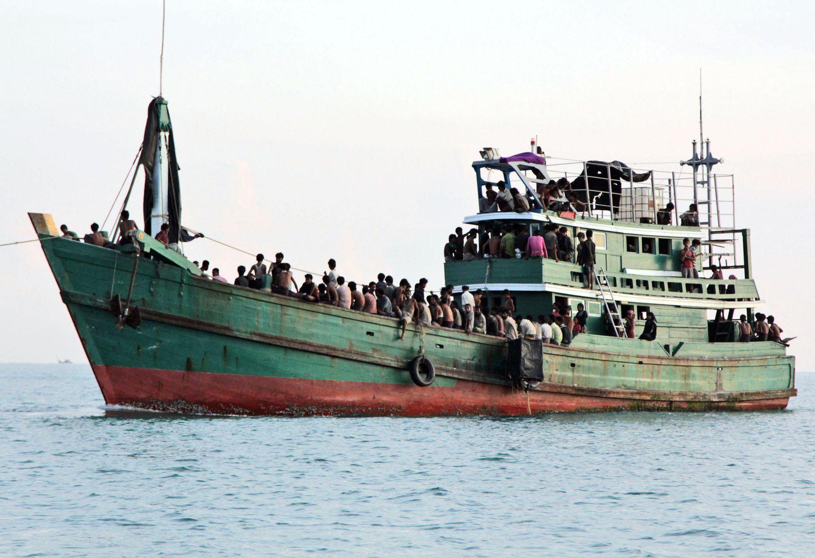 Indonesien/Bootsflüchtlinge
