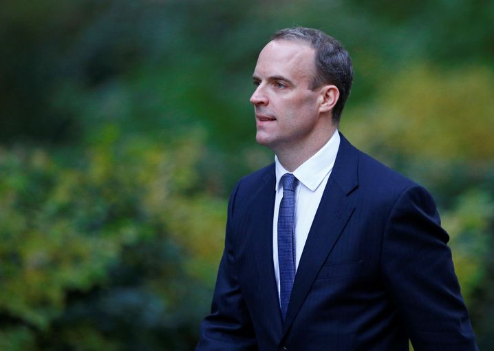 Brexit-Minister Dominic Raab