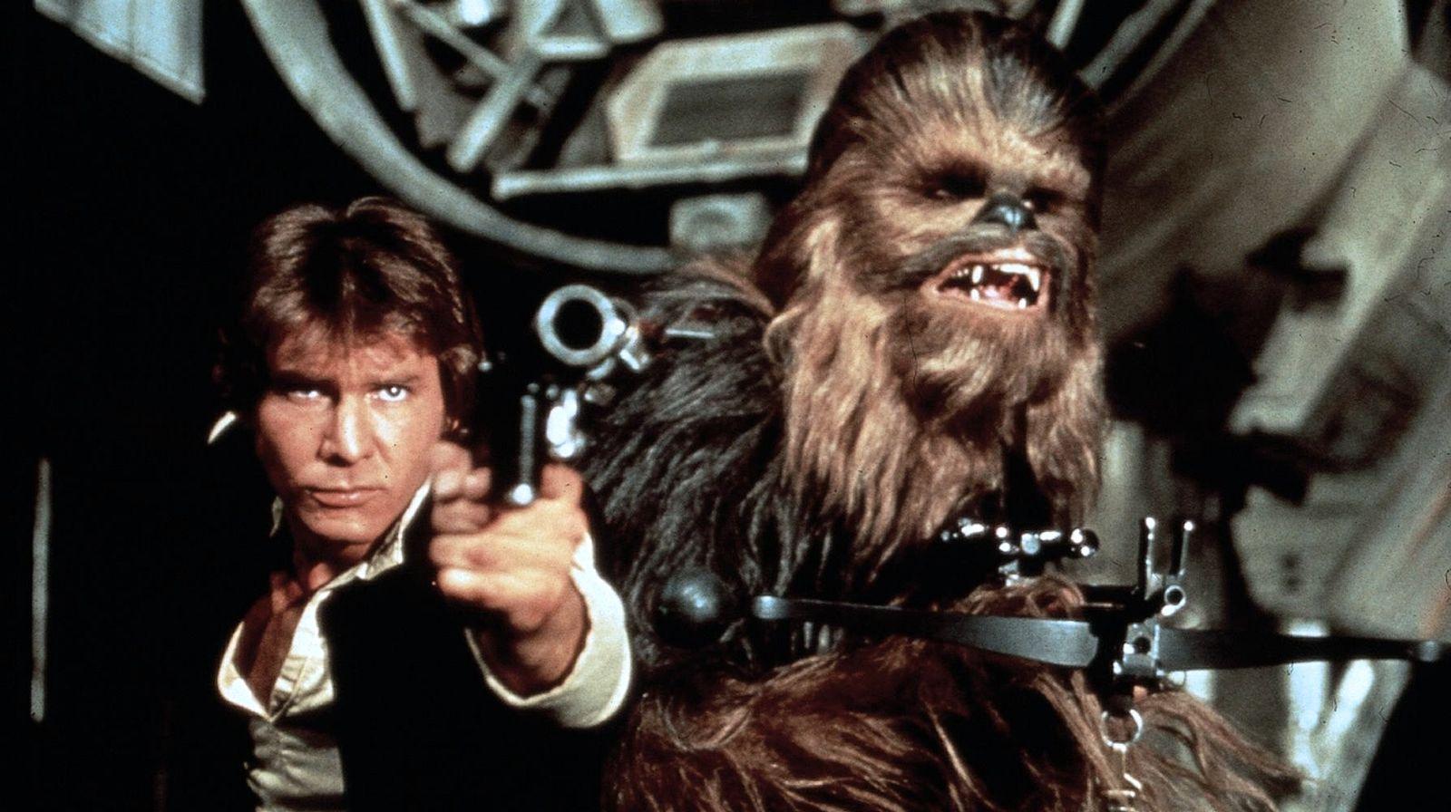 EINMALIGE VERWENDUNG Star Wars/ Krieg der Sterne/ Han Solo