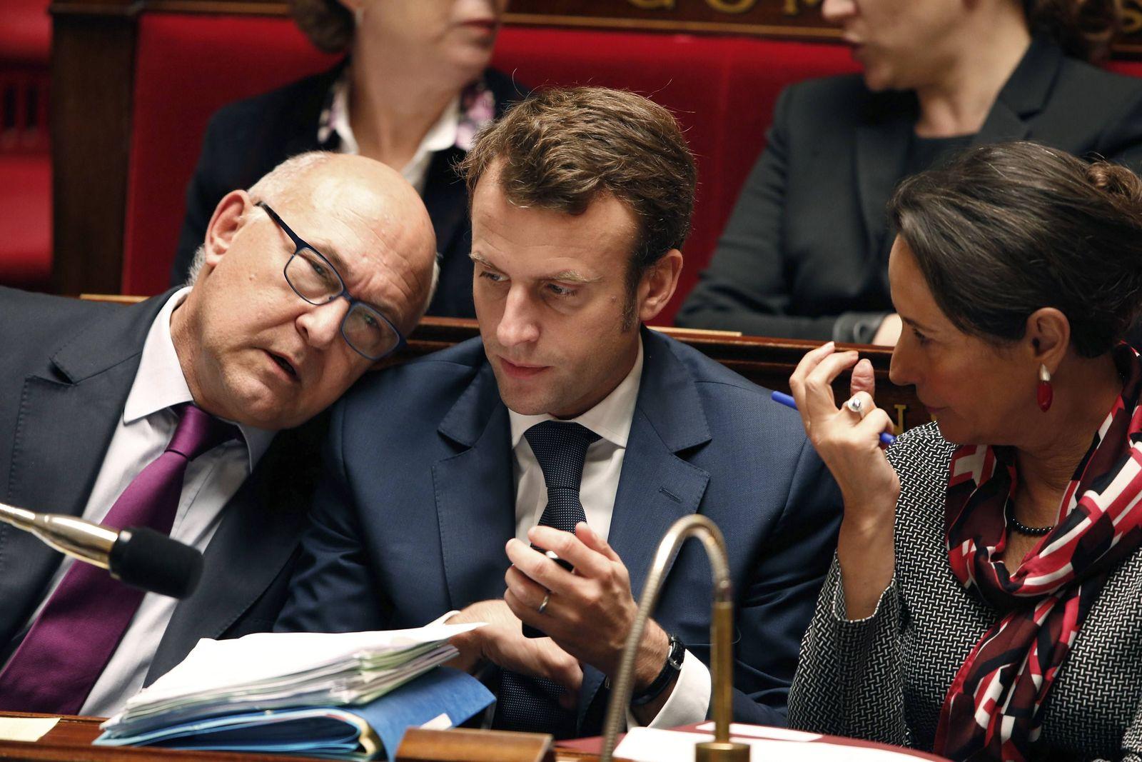 Macron / Sapin