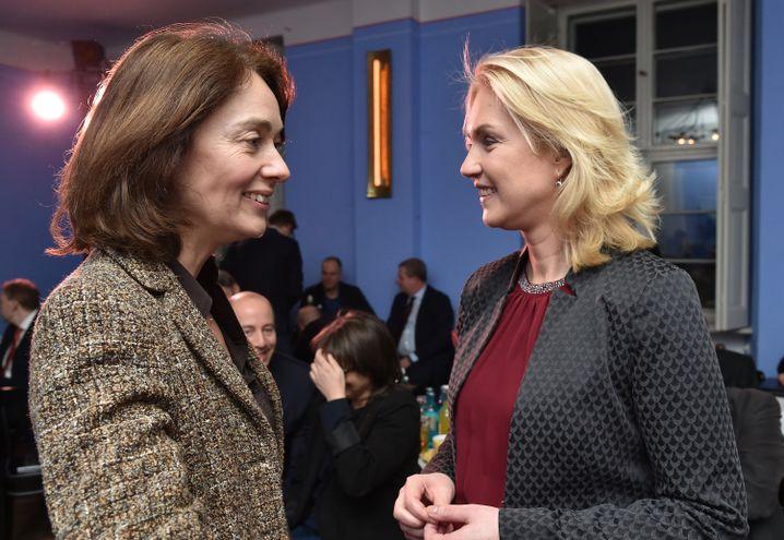 Katarina Barley, Manuela Schwesig