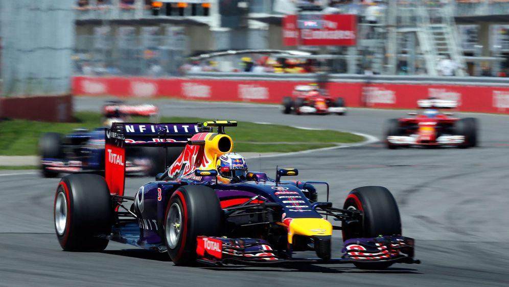 Großer Preis von Kanada: Vettel im Glück
