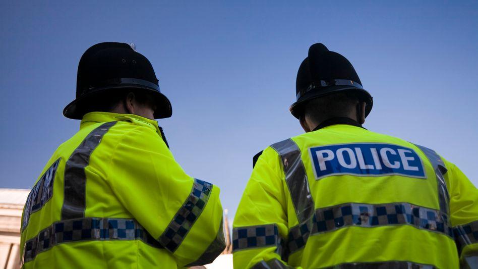 Britische Polizisten (Archivbild)