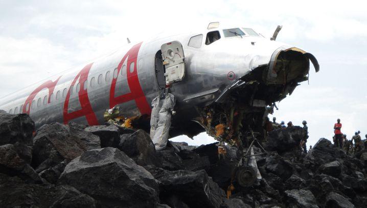 Flugzeugunglück: Beinahe-Katastrophe im Kongo