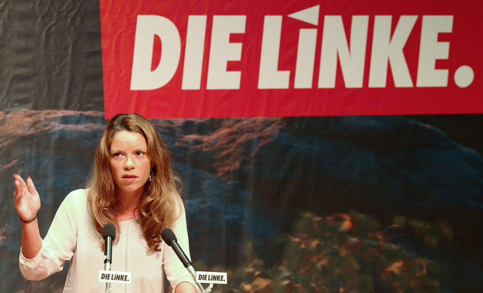 Landesparteitag der Linken Sachsen - mit Wahl einer neuen Führun