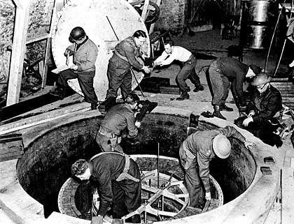 Ausgehobenes deutsches Labor in Haigerloch: Klägliche Reste eines Monstrums