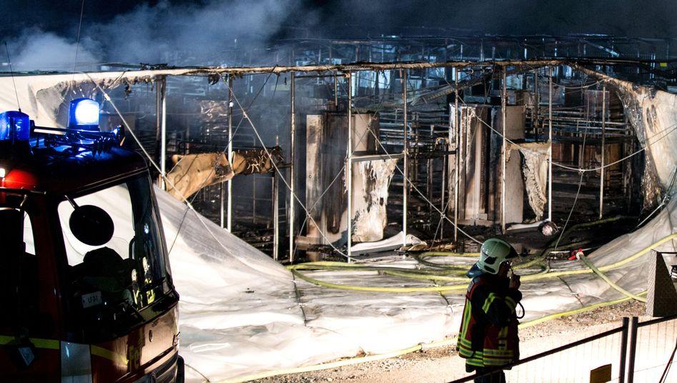 Feuerwehrleute in Gelsenkirchen
