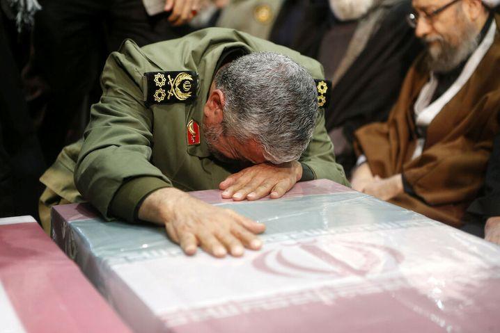 Ismail Ghaani trauert um Qasem Soleimani