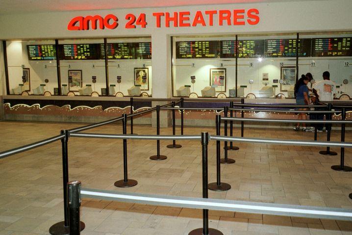 AMC24-Säle Anfang 2000 in Miami: Ganze Tage im Kino