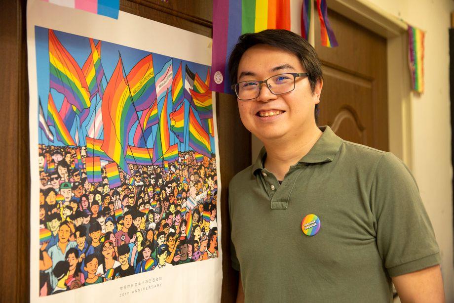 Sean Du ist ein Veteran der LGBT-Bewegung und hat 2003 die erste Taiwan Pride mitorganisiert
