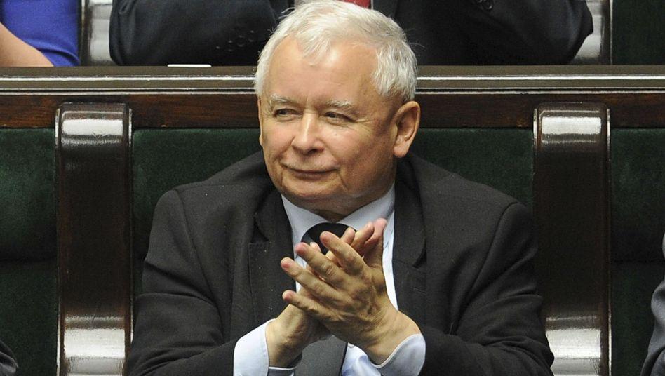 Jaroslaw Kaczynski, Chef der polnischen Regierungspartei PiS