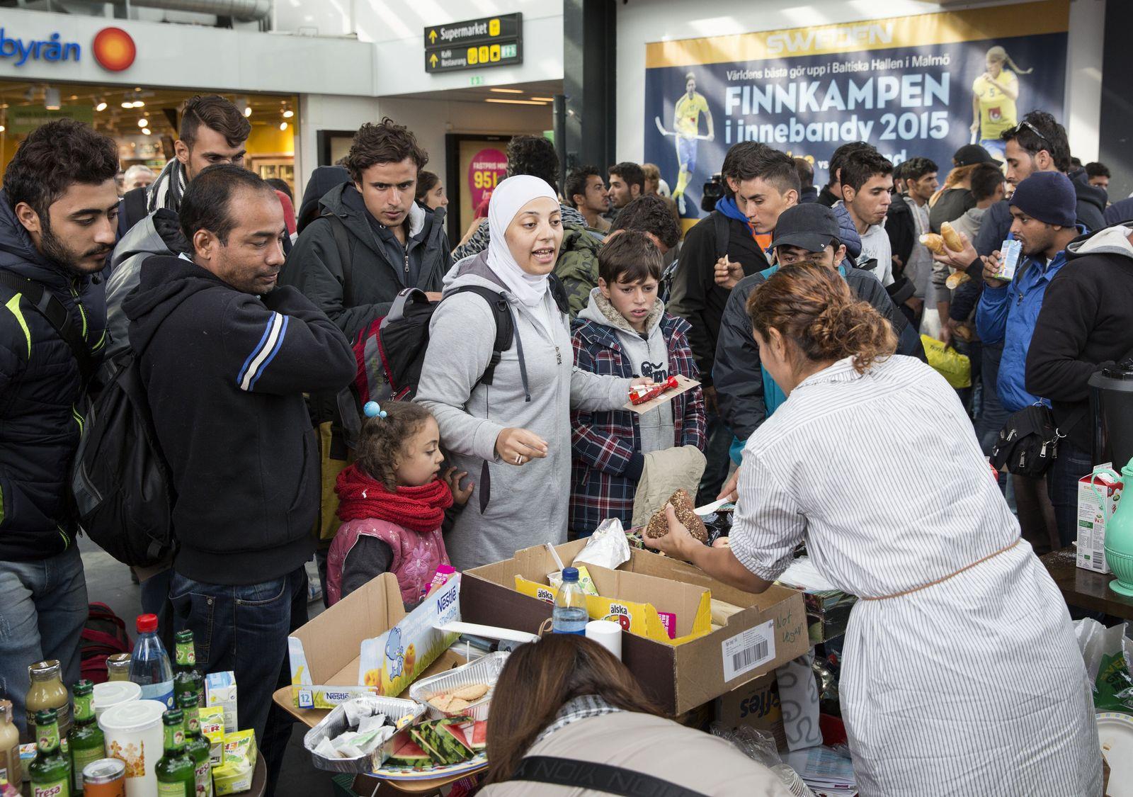 Schweden / Flüchtlinge