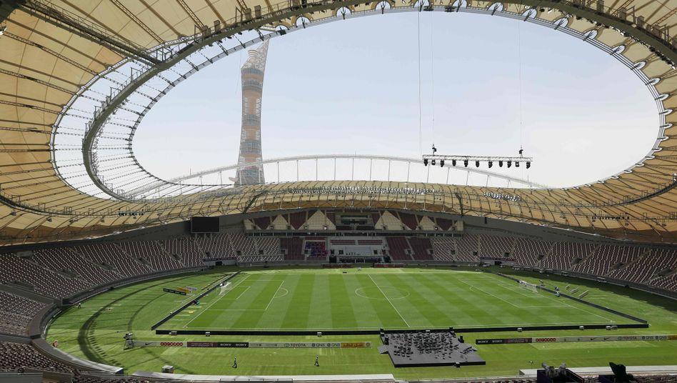 Das Khalifa International Stadium in Katar
