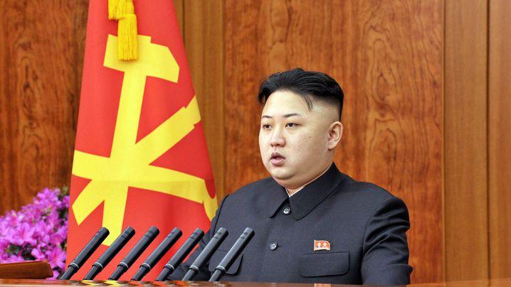 Neujahr in Nordkorea: Versöhnliche Worte, friedliches Feuerwerk