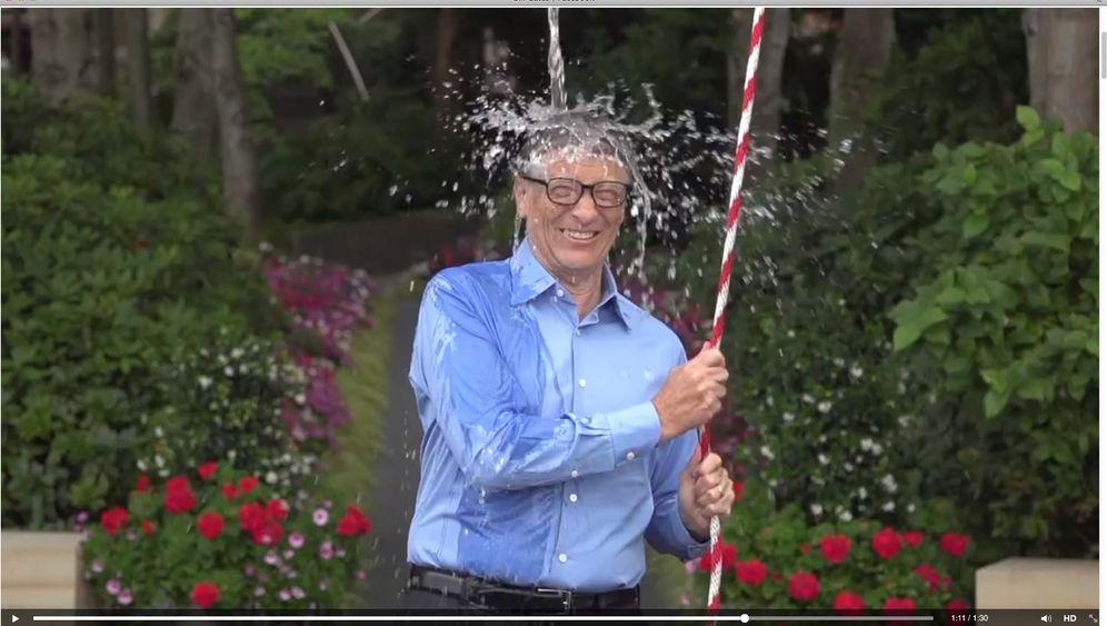 """""""Ice Bucket Challenge"""": Kübelweise Eiswasser für Promis"""