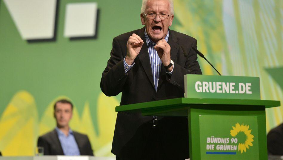 """Ministerpräsident Kretschmann (Grüne): """"Menschen sind so, wie sie sind"""""""