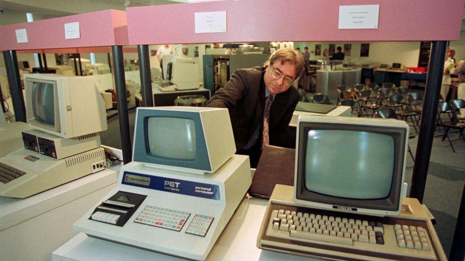 Heimrechner: Der Commodore Pet 2001 (l.) war einer der Ersten