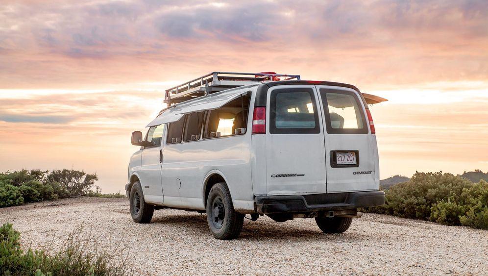 Umgebauter Van: Roadtrip ins Glück