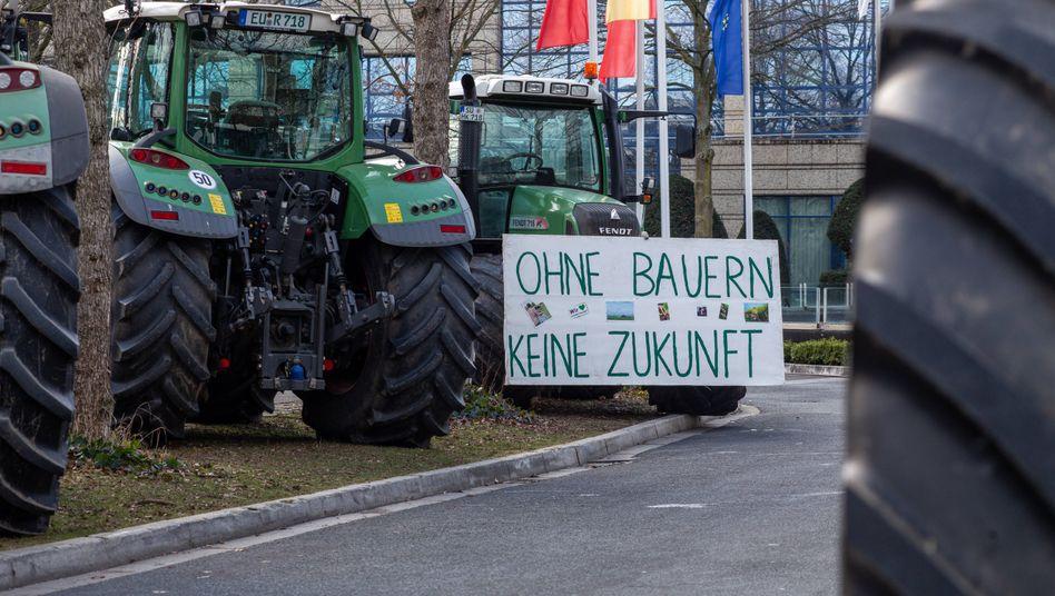 Bauernprotest (Archivbild)