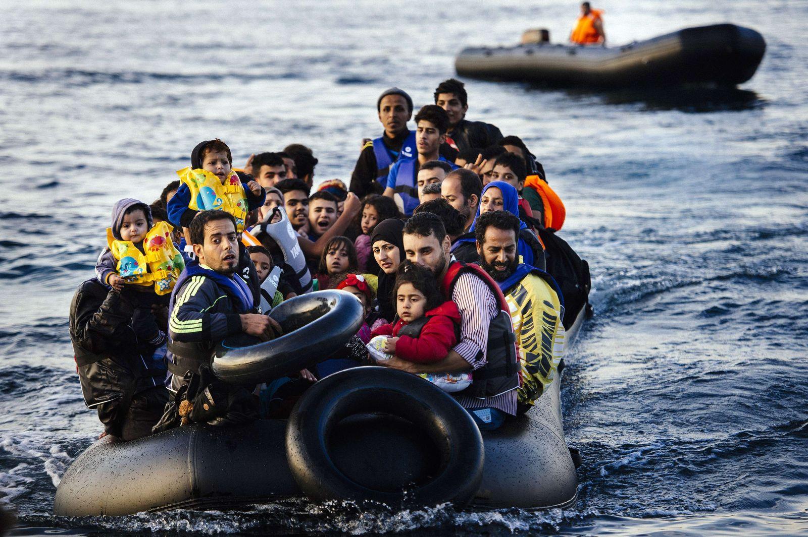 Griechenland/ Lesbos/ Flüchtlinge