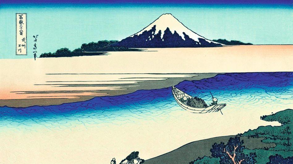 HEILIGER BERG Der Fuji, ein schlafender Vulkan, ist das Wahrzeichen des Landes. Nach Japans Urreligion, dem Shintoismus, kann eine Gottheit auch zum Berg werden; ihn zu besteigen ist eine religiöse Handlung.