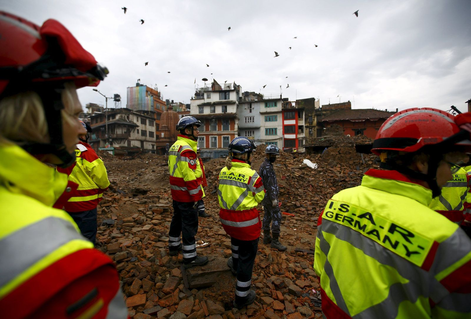 Nepal/ Erdbeben/ Rettungskräfte