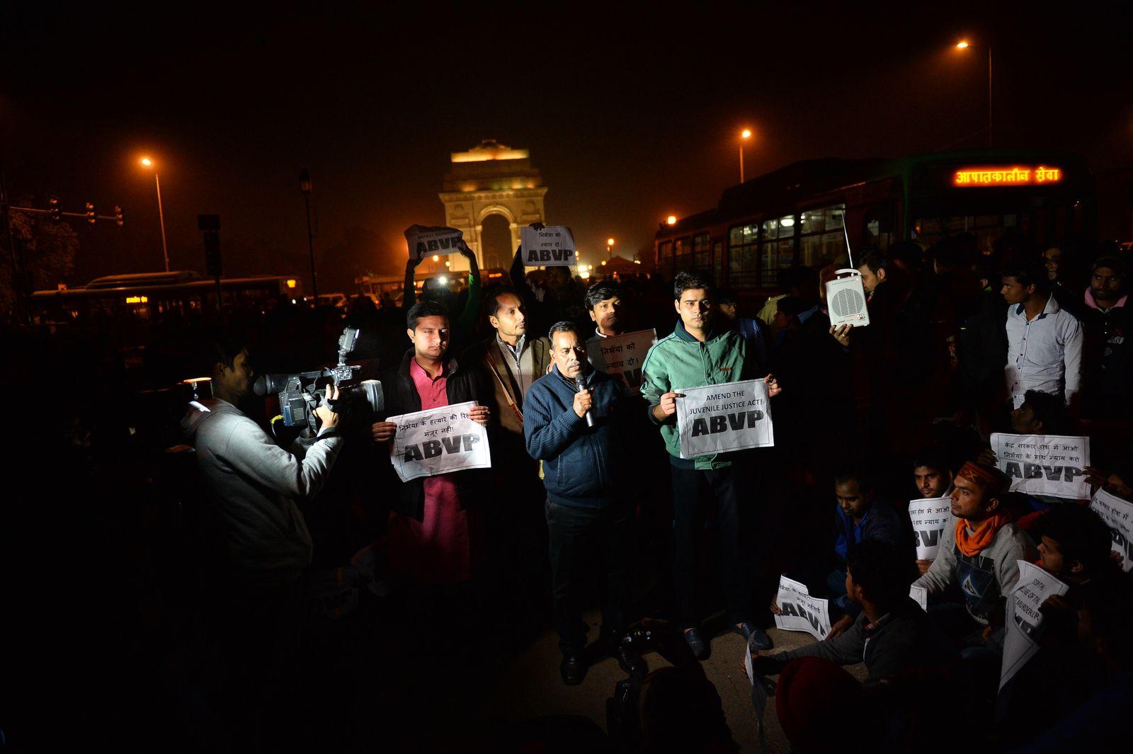Indien Vergewaltiger Proteste