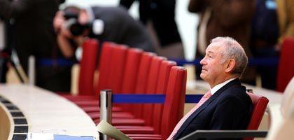 Ministerpräsident Beckstein: Durfte nur Personal zu Protokoll geben