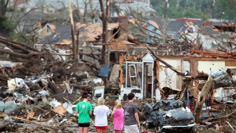 """Monster-Tornados: """"Es fielen Holzbalken vom Himmel"""""""