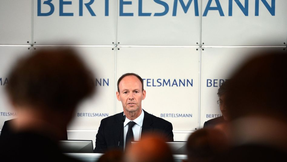 Bertelsmann-Chef Thomas Rabe: Operation Übernahme gescheitert