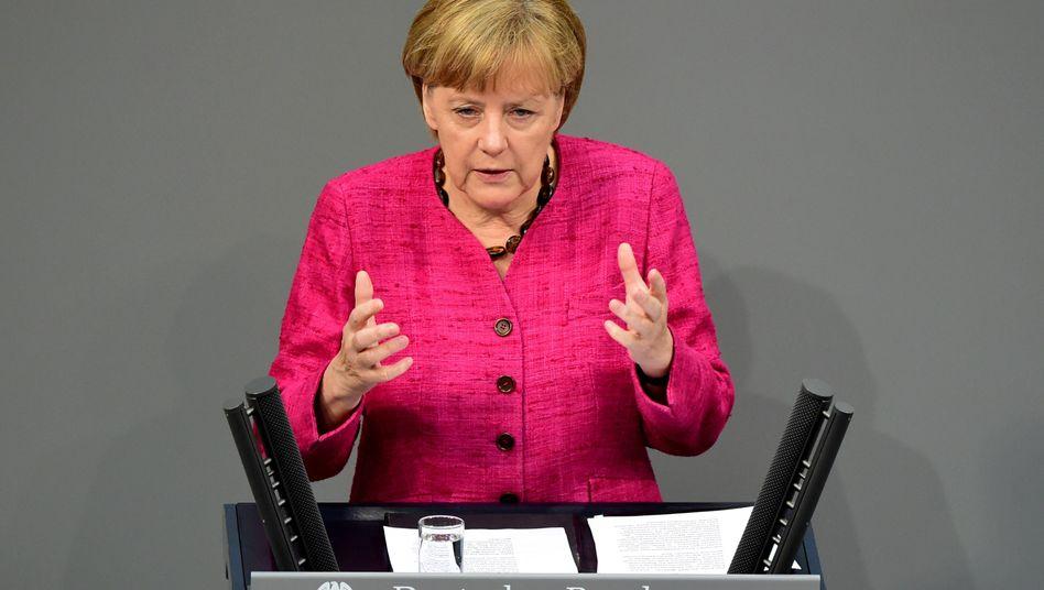 """Merkel über den """"Islamischen Staat"""": """"IS ist eine Bedrohung für Deutschland"""""""