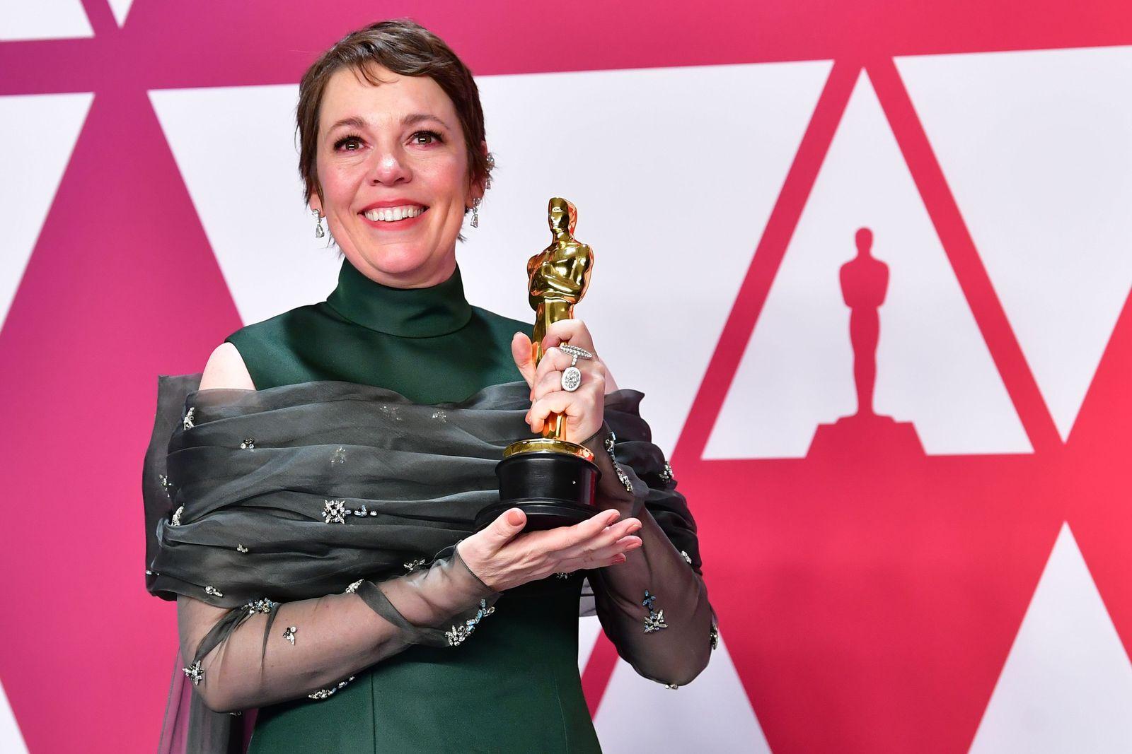 Oscars/ Olivia Colman
