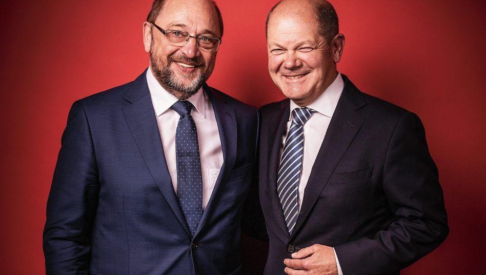 SPD-Rivalen Schulz, Scholz: »Damit muss in unserer Partei jetzt endlich Schluss sein«