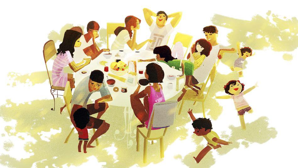 """Runde beim Essen: """"Ich will Kindern und Jugendlichen wieder Spaß am Essen machen"""""""